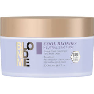Schwarzkopf BlondMe maska neutalizująca  blond 200ml