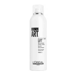 Loreal tecni.art VOLUME LIFT 3  pianka w sprayu-objętość u nasady 250ml