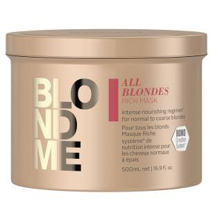 Schwarzkopf BlondMe Rich All Blondes Bogata maska do włosów blond 500ml